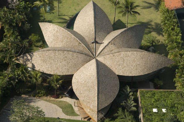 Tropical Modern Leaf House from Brazil (2)