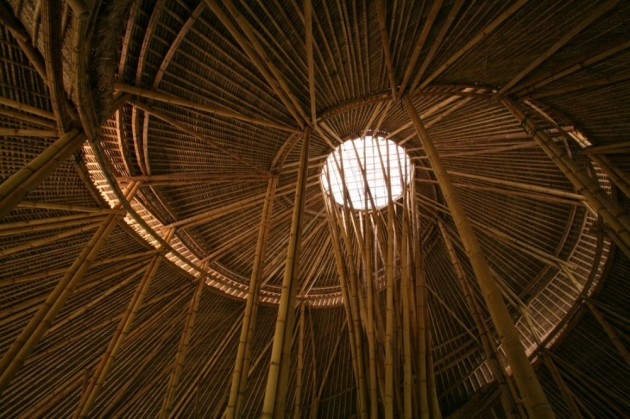 Green School Bamboo Ceiling