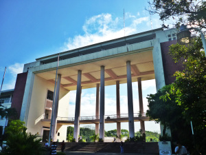 Neoclassical Philippine Civic Architecture - UP Diliman Main Building