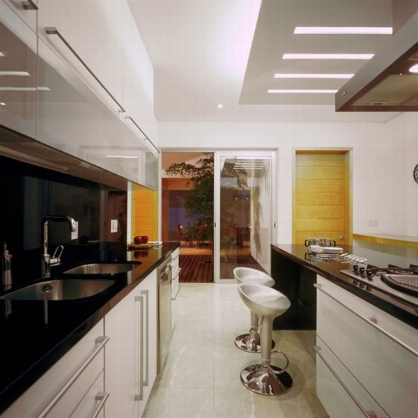 Modern House Design in Guadalajara, Mexico - Interior - Kitchen