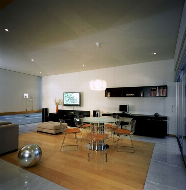 Modern House Design in Guadalajara, Mexico - Interior - Lounge