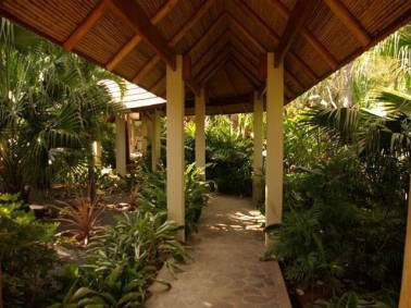 Tropical Asian Garden Entrance Philippine House