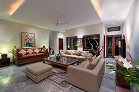 Living Interior - Villa Kalimaya, Seminyak
