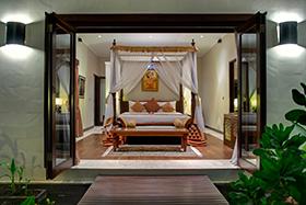Suite Entrance Villa Kalimaya