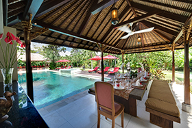 Villa Kalimaya, Bali - Terrace and Pool