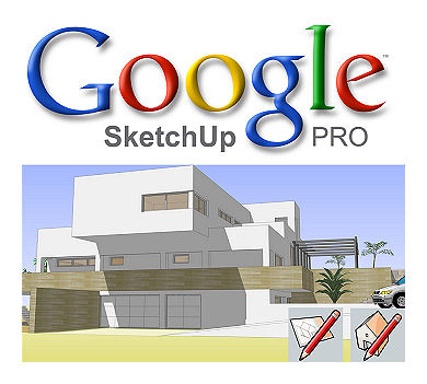 Google Sketchup 9 Proffesional - Modelling Tool