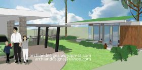 Bacolod Home Addition and Garage Roof Design