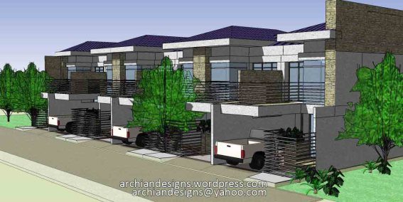 Modern Elegant Townhouses in Bacolod Cty