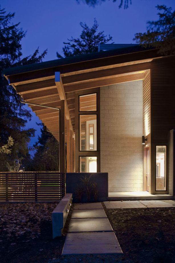 modern wooden house plans