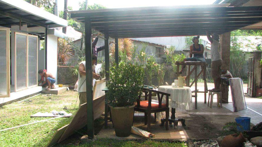 Bacolod garage extension design 2 archian designs for Garage extension designs