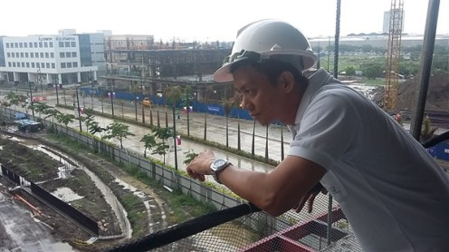 Architect Ian Jay Bantilan in Iloilo Business Park