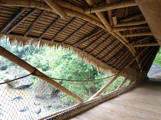 Green School Bridge Bamboo Design