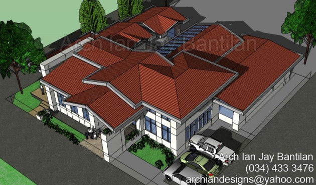 Mansion Residence - Bago City Negros Occidental Aerial