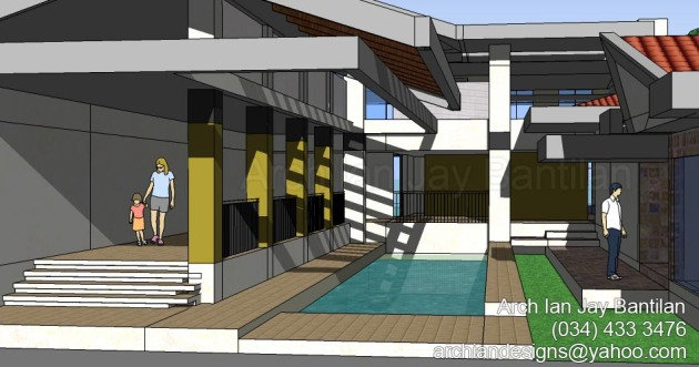 Mansion Residence - Interior Swimming Pool - Bago City
