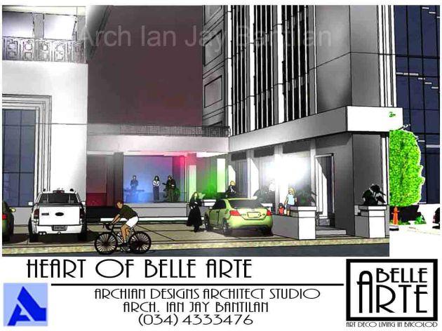 Villanueva Belle Arte Apartments - Bacolod City - Night View
