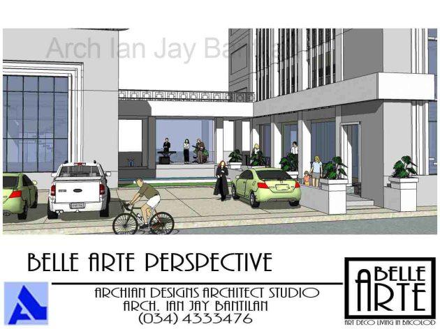 Villanueva Belle Arte Apartments - Bacolod City - Perspective