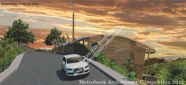 Metrobank Architecture Competition 2012 Winner - Modern Filipino Bamboo House