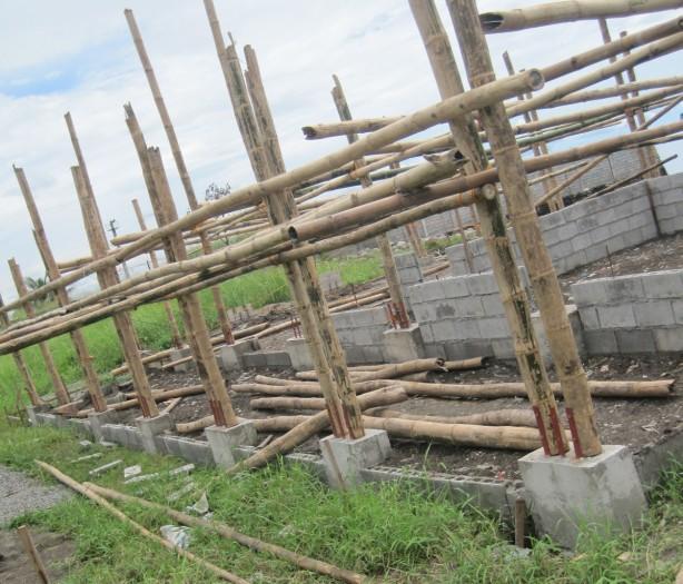 120708 Construction Using Bamboo Columns (1)