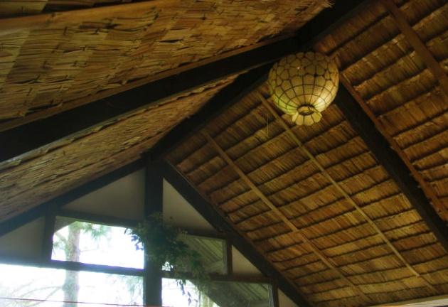 Thatch roof nipa hut modern interiors
