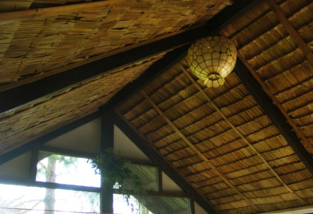 Thatch roof nipa hut modern interiors