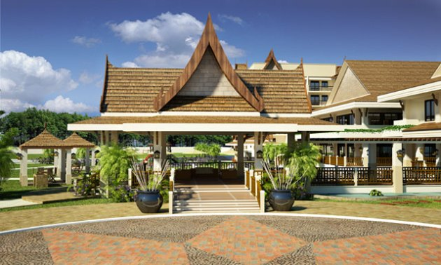 Borrowed Thai Style Roof