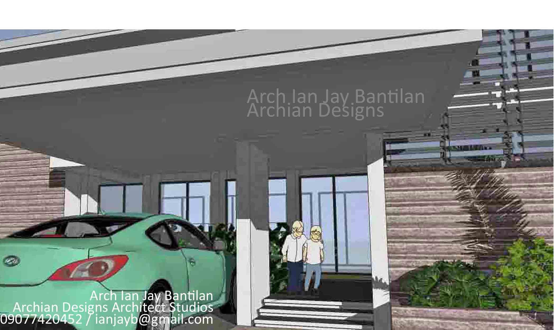 Modern Garage Residence - Puerto Real House - Iloilo City