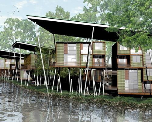 Modern Stilt House