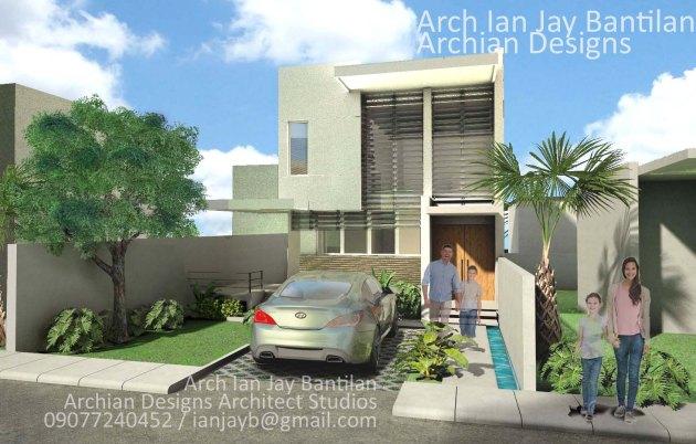 Compact Minimalist Modern House in Mandurriao, Iloilo