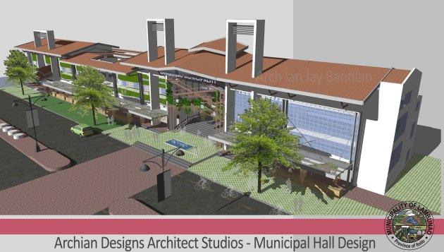 Lambunao Municipal Hall, City Hall Design, 1st Class Municipality, Iloilo Province - Building Design - Davao, Leyte, Samar, Cebu, Negros, Pampanga, Ilocos, Cagayan de Oro, Zamboanga