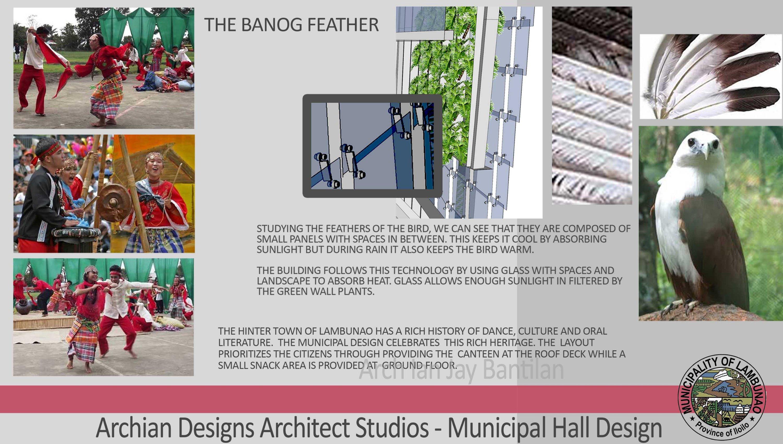 Lambunao Municipality Office Design Concept considering culture and History Philippines - Iloilo Province - Davao & Archian Designs: Architects in Iloilo Bacolod Cebu Davao \u0026 the ...