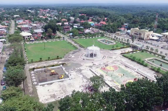 Lambunao Municipal Hall - existing municipal hall and plaza - Site Analysis