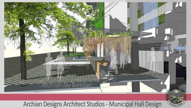 Natural Ventilated Regional Capitol City Hall Municipal Office Building - Iloilo Province - Building Design - Davao, Leyte, Samar, Cebu, Negros, Pampanga, Ilocos, Cagayan de Oro, Zamboanga