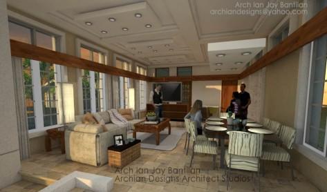 Iloilo Cebu Olongapo - Mansion - Interior Classic Contemporary House - 4 Bedroom